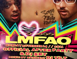 LMFAO After Party – Toronto, Canada